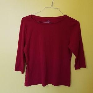 Women's size large petite knit shirt